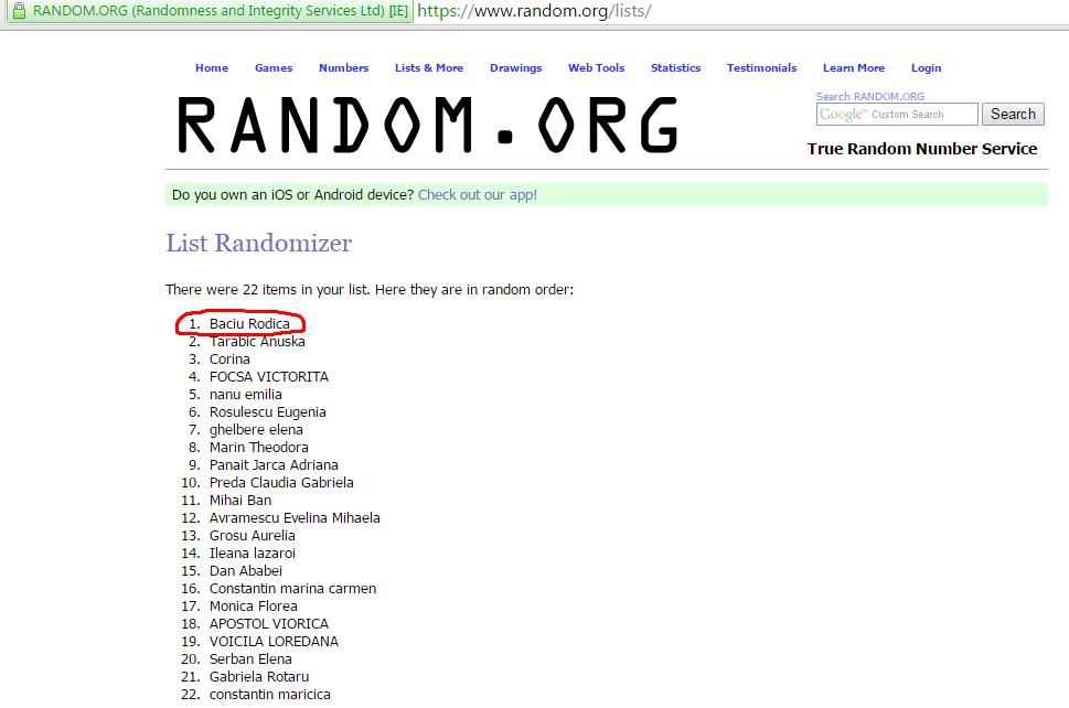 lista random castigator2
